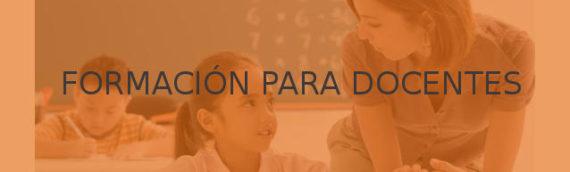 """Formación para docentes: """"Educación consciente en el aula"""""""